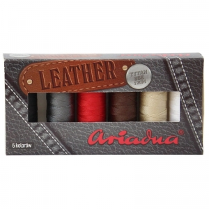 Leather - Zestaw Nici Ariadna - 6 szpulek